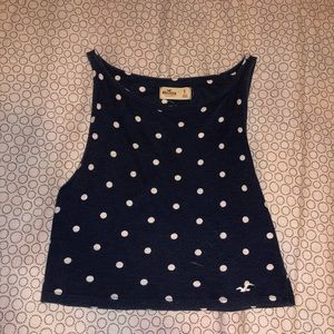 $7 With Purchase Hollister Cropped Tank Top